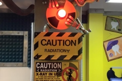 Xray Caution Sign