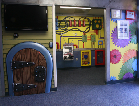Photo of one of the orthodontist's playrooms.
