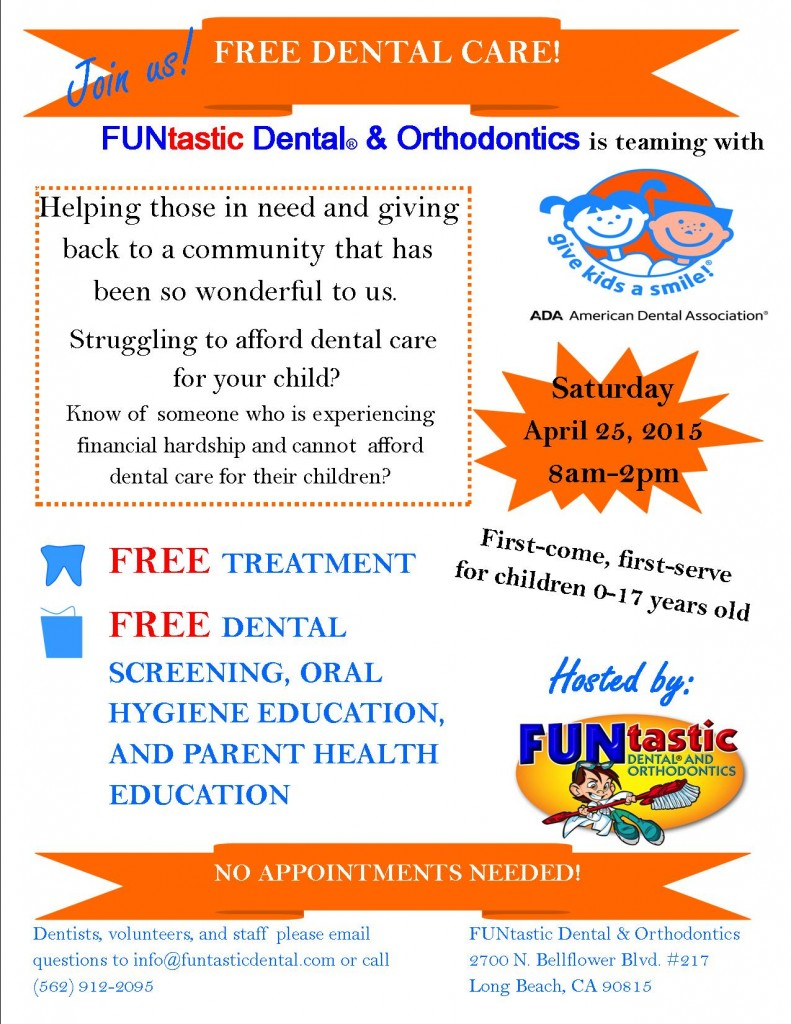 Give Kids A Smile Flyer