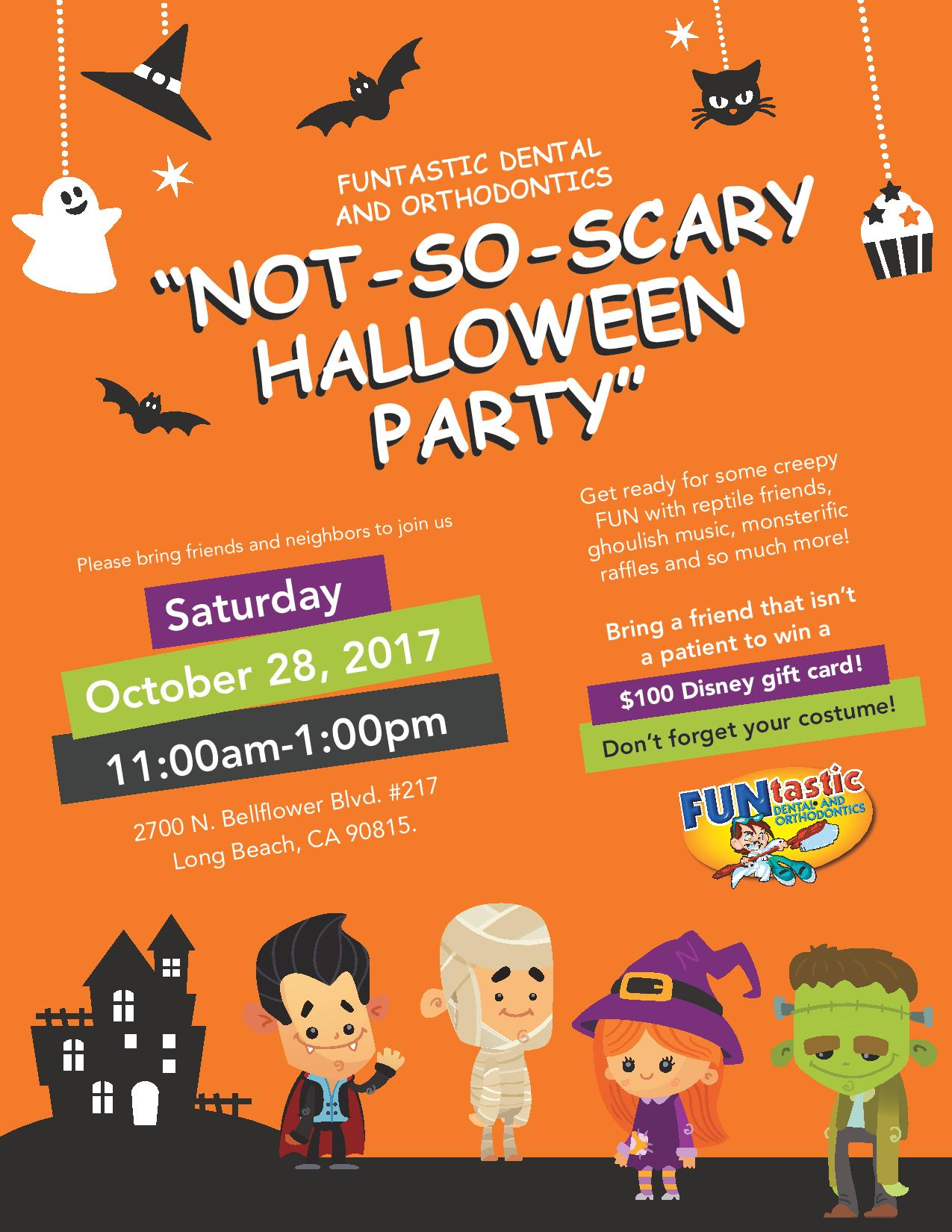 not-so-scary halloween party 2017 | funtastic dental